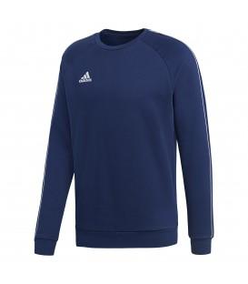 Sudadera de fútbol para hombre adidas CORE 18 CV3959 de color azul marino al mejor precio en tu tienda de deportes online chemasport.es
