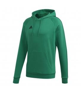 Sudadera con capucha para hombre adidas CORE 18 FS1894 de color verde al mejor precio en tu tienda de deportes online chemasport.es
