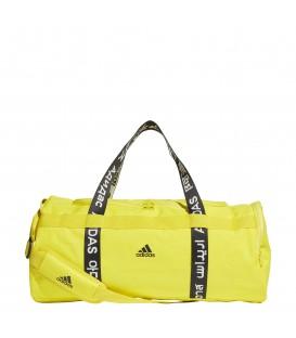 Bolsa de entrenamiento adidas 4athlts Duffel M de color amarillo al mejor precio en tu tienda de deportes online chemasport.es