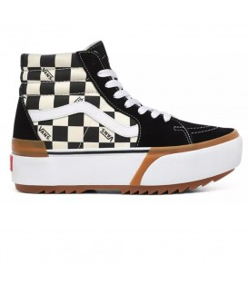 ZAPATILLAS VANS CHECKERBOARD SK8-HI STACKED