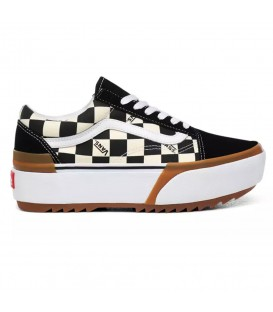 ZAPATILLAS VANS CHECKERBOARD OLD SKOOL STACKED
