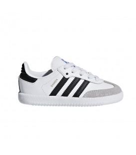 Deportivas para niños adidas Samba OG K BB6969 de color blanco al mejor precio en tu tienda de deportes online chemasport.es