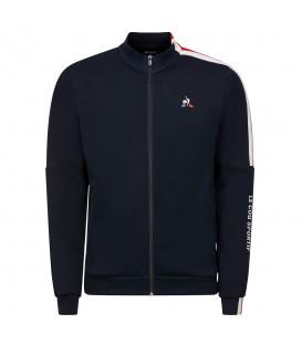 Chaqueta con cremallera para hombre Le Coq Sportif Tricolore de color azul marino al mejor precio en tu tienda de moda online chemasport.es