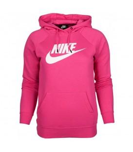 Sudadera con capucha para mujer Nike Sportswear Essential de color rosa al mejor precio en tu tienda de deportes online chemasport.es