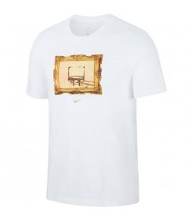 Camiseta para hombre Nike Dri-Fit Basketball de color blanco al mejor precio en tu tienda de deportes online chemasport.es