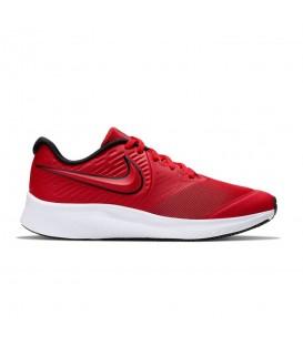 Zapatillas para niños Nike Star Runner 2 AQ3542-600 de color rojo al mejor precio en tu tienda de deportes online chemasport.es