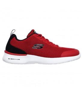 Deportivas de caminar para hombre Skechers Skech-Air Dynamight de color rojo al mejor precio en tu tienda de deportes online chemasport.es