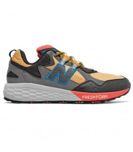 Zapatillas de trail para hombre New Balance Fresh Foam Crag 2 de color amarillo al mejor precio en tu tienda de deportes online chemasport.es