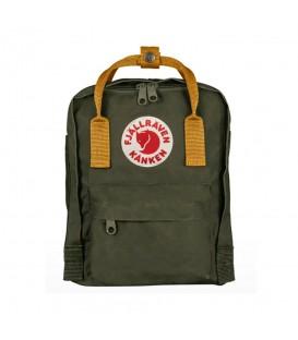 Mini mochila Fjallraven Kanken Mini F23561-662-166 de color verde al mejor precio en tu tienda de deportes online chemasport.es