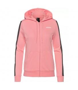 Chaqueta para mujer con capucha adidas TRFC de color rosa al mejor precio en tu tienda de deportes online chemasport.es