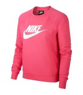 Sudadera sin capucha para mujer Niks Sportwear Essential BV4112-674 de color rosa al mejor precio en chemasport.es