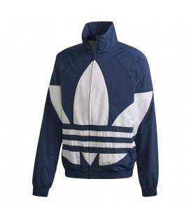 Chaqueta con cremallera adidas Big Trefoil FM9894 de color azul al mejor precio en tu tienda de moda online Chema Sneakers en Pontevedra