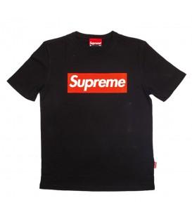 Camiseta de manga corta para hombre Supreme Spain Boxlogo de color negro al mejor precio en tu tienda de deportes online chemasport.es