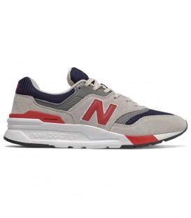 Zapatillas para hombre New Balance 997 CM997HEQ de color gris al mejor precio en tu tienda de deportes online chemasport.es