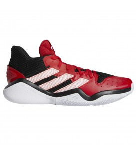 Deportivas de baloncesto para hombre adidas Harden Stepback de color rojo al mejor precio en tu tienda de deportes online chemasport.es