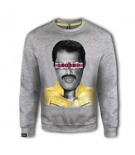 Sudadera con capucha unisex Leg3nd Freddie de color gris al mejor precio en tu tienda de moda online chemasport.es