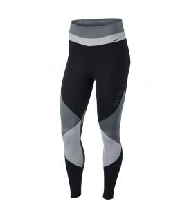 Mallas de entrenamiento para mujer Nike One de color gris y negro para mujer al mejor precio en tu tienda de deportes chemasport.es