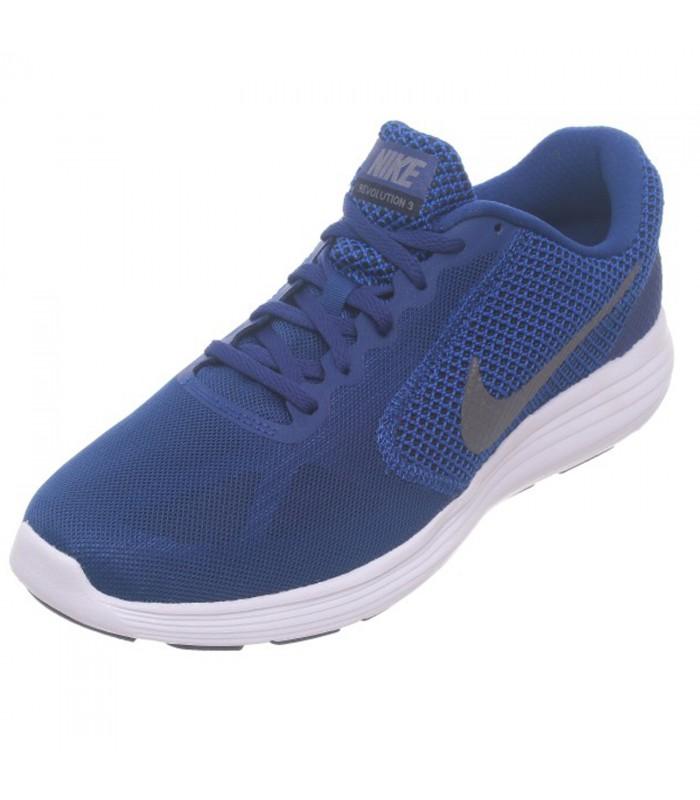 9d143f086e3 Zapatillas de running Nike Revolution 3 GS en color azul marino