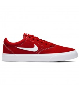 Deportivas para hombre y mujer Nike SB Check Solarsoft de color rojo al mejor precio en tu tienda de deportes online chemasport.es
