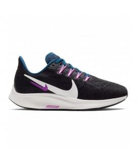 zapatillas nike air zoom pegasus 36 para mujer en color negro al mejor precio
