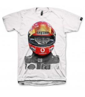 camiseta Leg3nd Kaiser unisex en color blanco al mejor precio en tu tienda online chemasport.es