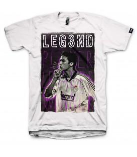 Camiseta Leg3nd Silencio unisex en color blanco en tu tienda online chemasport.es