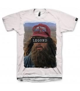 Camiseta Leg3nd Gump unisex en color blanco al mejor precio en tu tienda online chemasport.es