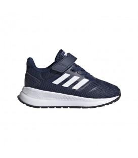 Zapatillas para niños adidas Runfalcon I EG6153 de color azul marino al mejor precio en tu tienda de deportes online chemasport.es