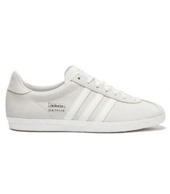 37c5f2b043dbf0 Zapatillas Adidas Gazelle para mujer con brillos plateados