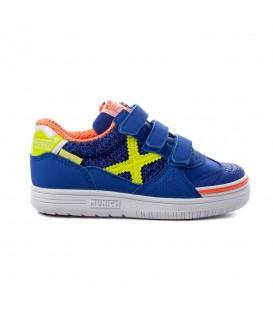 zapatillas g-3 kid indoor para niño en color azul en tu tienda online chemasport.es