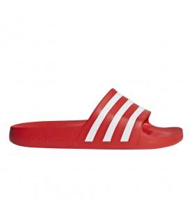 Chanclas de piscina para mujer adidas Adilette Aqua de color rojo al mejor precio en tu tienda de deportes online chemasport.es