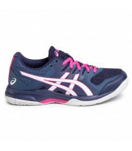 zapatillas asics gel rocket 8 para mujer en color morado en tu tienda online chemasport.es