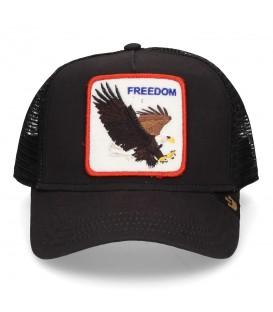 Gorra ajustable de animales Goorin Bros Freedom con imagen de águila en la parte frontal al mejor precio en chemasport.es