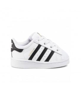 zapatillas adidas superstar para niño con cordón elástico disponible en tu tienda de Pontevedra y chemasport.es