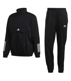 Chándal para hombre adidas MTS Tech de color negro al mejor precio en tu tienda de deportes online chemasport.es