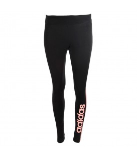 Mallas para mujer adidas W TRFC de color negro con detalles en rosa al mejor precio en tu tienda de deportes online chemasport.es