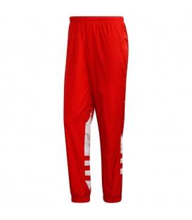 pantalón adidas big trefoil para hombre en color rojo al mejor precio