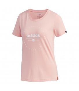 Camiseta para mujer adidas W Circular graphic de color rosa al mejor precio en tu tienda de deportes online chemasport.es