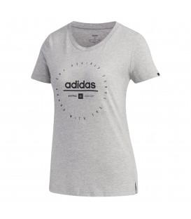 Camiseta con estampado de adidas para mujer al mejor precio en tu tienda de deportes online chemasport.es