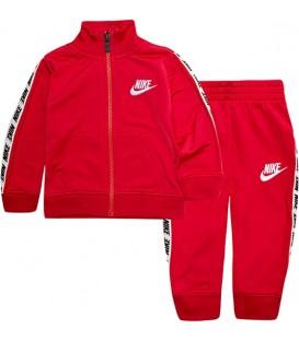 chandal nike block tricot de dos piezas en color rojo para bebe al mejor precio