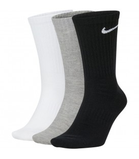 pack de calcetines nike everyday de tres pares unisex en multicolor al mejor precio