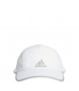 Gorra unisex ajustable adidas Aeroready Runner Mesh de color blanco al mejor precio en tu tienda de deportes online chemasport.es