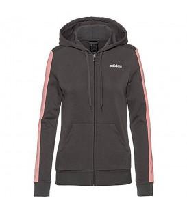 Chaqueta con capucha de estilo deportivo para mujer adidas W Trfc de color gris al mejor precio en tu tienda de deportes online chemasport.es