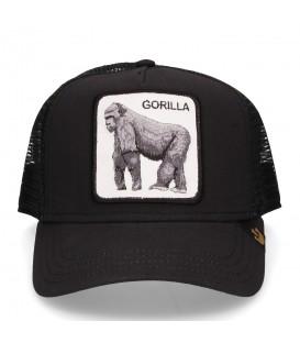 Gorra unisex ajustable Goorin Bros King of the jungle con imagen de gorila en la parte frontal al mejor precio en chemasport.es