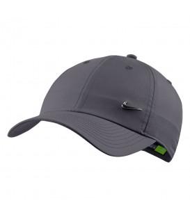 Gorra unisex para hombre y mujer Nike Sportwear Heritage 86 de color gris al mejor precio en tu tienda de deportes online chemasport.es