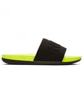 Chanclas para hombre Nike Offcourt de color negro y amarillo al mejor precio en tu tienda de deportes online chemasport.es