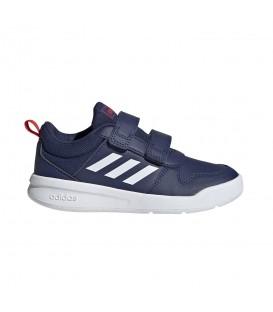 Zapatillas para niños adidas Tensaurus C de color azul con cierre de velcro perfectos para el colegio al mejor precio en chemasport.es