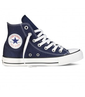 Deportivas abotinadas unisex Converse All Star Hi de color azul marino al mejor precio en tu tienda de moda online chemasport.es