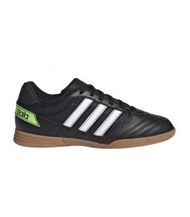 Deportivas de fútbol sala para niños adidas Super Sala J de color negro al mejor precio en tu tienda de fútbol sala online barata