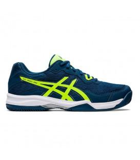 zapatillas asics gel pro 4 para hombre en color azul al mejor precio en tu tienda online chemasport.es
